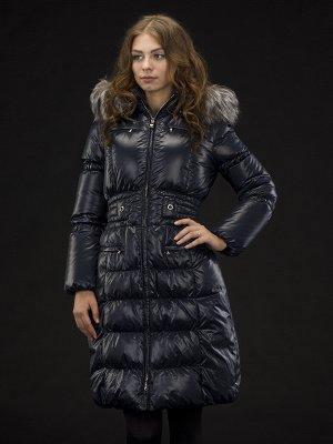 Легкое зимнее пальто (пух) р 48-50