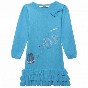 30034 платье океан
