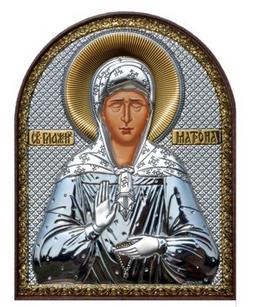 *Серебряные иконы из Греции* Минутка подумать о душе..  — св. ЗАСТУПНИКИ - св. Матрона, Ксения, Николай Чудотворец... — Свадьба