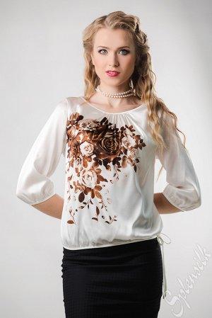 Блузка 100% шёлк на 48 раз.