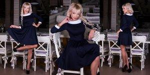 Симпатичное платье    р-р  44-46