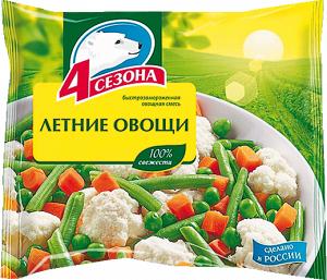 "Летние овощи ""4 сезона""  400г"