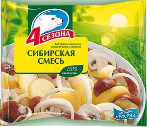 """Сибирская смесь """"4 сезона""""  400г"""