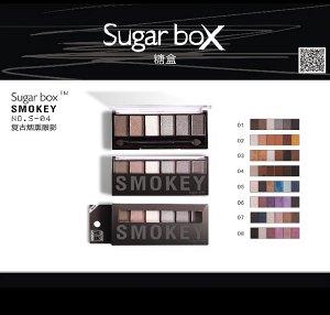 Тени Sugarbox smokey #8