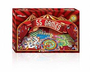 """Игры """"55 лучших игр мира""""  76073"""