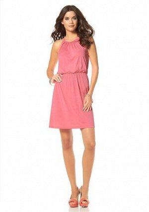 платье Лаура Скотт кораллового цвета 46-48 размер.