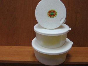 ЭМ-контейнер для хранения пищевых продуктов круглый 075л