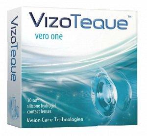 Однодневные контактные линзы VizoTeque Vero One -1.75 ВС 8.6 (30 линз)