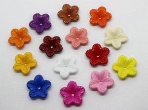Цветок пластиковый 10 шт