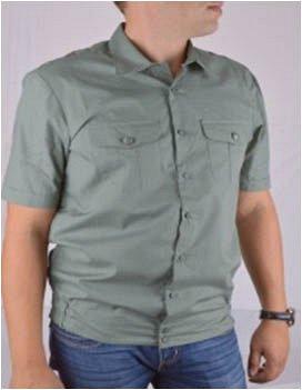 Мужская сорочка, рубашка с коротким рукавом