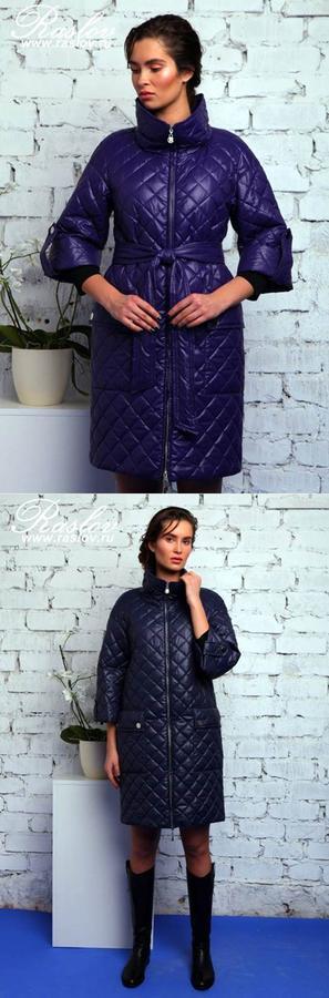 Стеганное пальто от Raslov