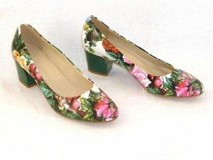 лаковые летние туфельки на 37 размер