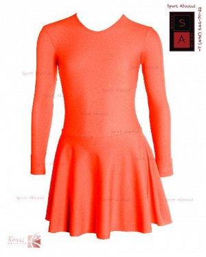 Рейтинговое платье Р 29-011 ПА рыжий