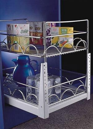 Кухонные аксессуары + Гардеробные системы + Фурнитура — Выдвижные секции — Мебель