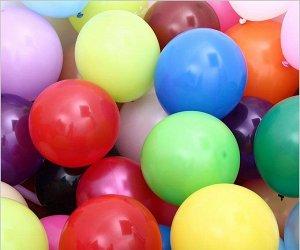 Однотонный шарик