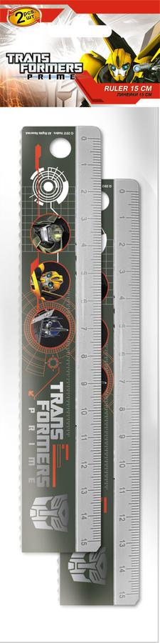 Линейка Линейка, 15 см, 2 шт. Печать на корпусе - термоперенос.