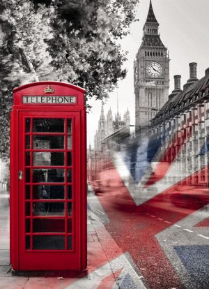 Фотообои Лондон на связи