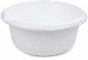 Миска Миска 5,0л СНЕЖНО-БЕЛЫЙ. Большой объем и удобный носик для слива жидкости делают миску на 5 литров очень практичной посудой не только для кухни, но и для сада и огорода. В такой емкости можно го