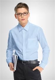 Отличная мальчуковая рубашка темно-синего цвета в школу и не только