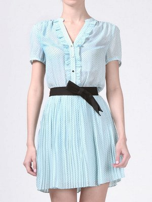 платье с ремнем