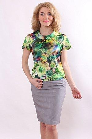 продаю летнюю блузку из атласа
