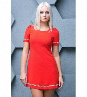 Яркое, элегантное итальянское платье