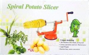 Для резки картофеля спиралькой