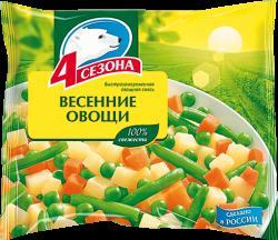 "Весенние овощи ""4 сезона""  400г"