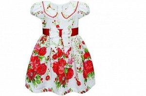 Платье с цветами  (цвета разные!)