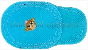 Тканевая накладка на очки малая (упаковка = 3 пары)