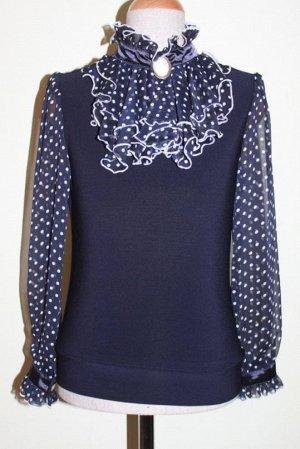 Блузка Блузка с длинным рукавом Состав: полиэстер 100%