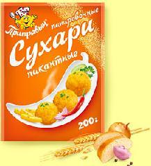 200 г, Панировочные сухари Пикантные