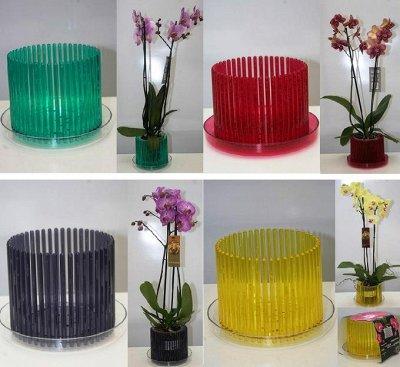 Для любителей орхидей и всех цветоводов❃Орхиата и Спагмосс🌺 — Горшки на любой вкус и цвет (Новинки) — Сад и огород