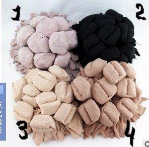 Носки капроновые в упаковке 10 пар, цвет телесный