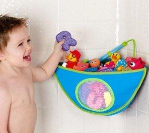 Корзинка для игрушек в ванную.