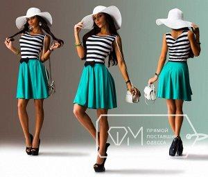 Симпатичное платье на лето