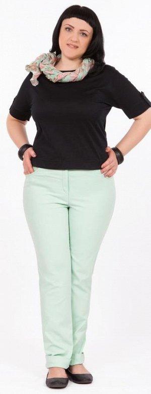 брюки Светло-Зеленый. Рост 170  Состав 80% хлопок 16% вискоза 4% спандекс