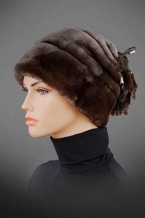 шапка мутон,размер 56-60 единый,цвет коричневый