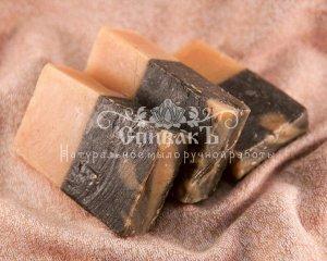 Мыло-шампунь Крапива и Розмарин (подарочная коробочка), 100гр
