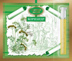 Эфирные масла натуральные.1,3 мл на открытке