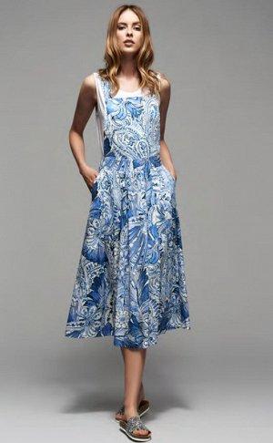 Платье 21. SFIZIO OFFICIAL. Италия, премиум сегмент. Сарафан как на фото. Очень крутой, огромный sale% . На сайте 11900. Подойдет на 42-44 рос. (40ит)