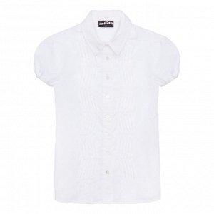 Х/б рубашка, декор атласной лентой