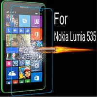 Стекло защитное закаленное на ровную часть экрана Nokia Lumia