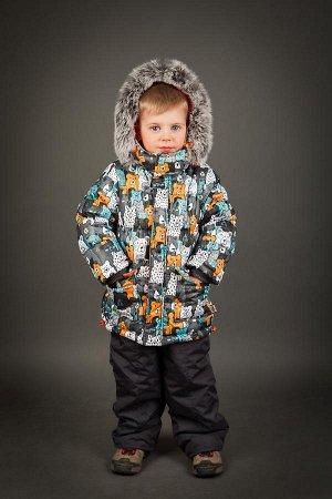 Замечательный теплый костюм на зиму