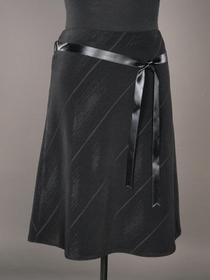 Элегантная трикотажная юбка