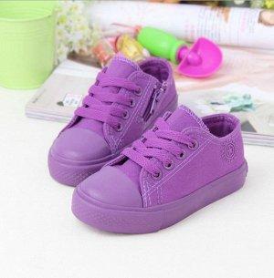 Кеды фиолетовые