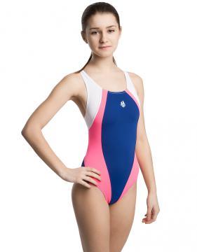 Юниор купальник спортивный SOLUTION PBT JUNIOR+Lining, blue