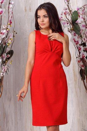 Платье горчичного цвета