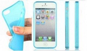 Чехол силикон цветной с заглушками iphone 5/5s