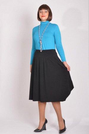 Лёгкая  юбка большого размера (распродажа)